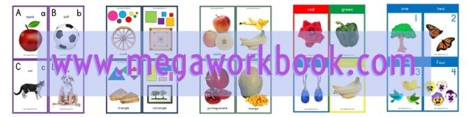 photo regarding Printable Color Flashcards for Toddlers titled Flashcards for babies - Flashcards for small children - Preschool