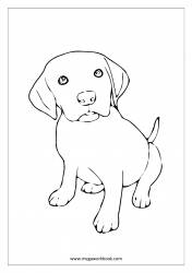 Coloring Sheet - Dog