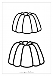 Jelly Coloring Page