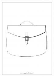 Coloring Sheet - Bag