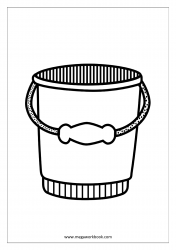 Coloring Sheet - Bucket