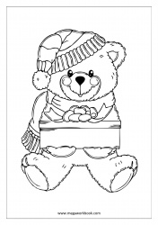 Coloring Sheet - Teddy Bear