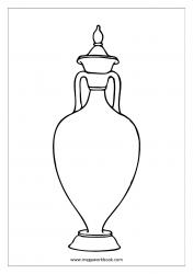 Coloring Sheet - Urn