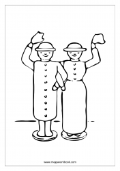 Coloring Sheet - Couple