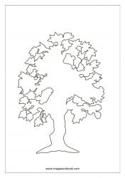 Coloring Sheet - Tree
