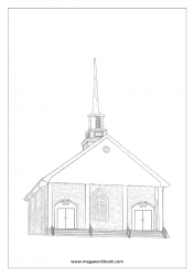Christmas Coloring Pages - Christmas Coloring Sheets - Church