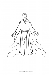 Coloring Sheet - Christmas - Jesus