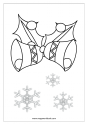 Christmas Coloring Pages - Christmas Coloring Sheets - Jingle Bells