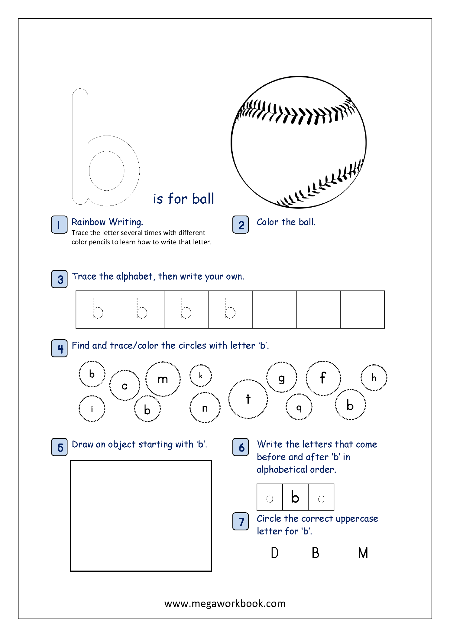 - Free Printable Alphabet Recognition Worksheets For Small Letters