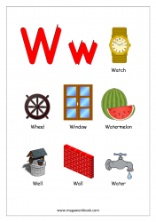 Objects Starting With Alphabet - W