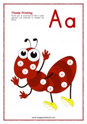 Thumb Printing (Ant Theme)