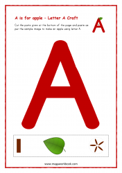 A For Apple (Capital A)