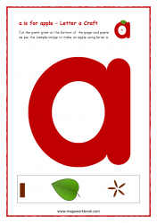 A For Apple (Small A)
