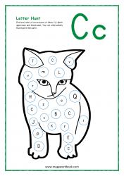 Letter Hunt (C For Cat)