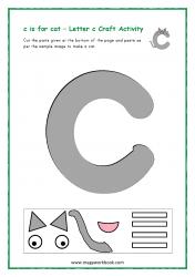 C for Cat - Small c