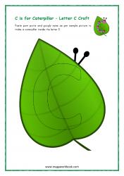 C for Caterpillar