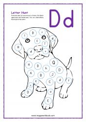 Letter Hunt (D For Dog)