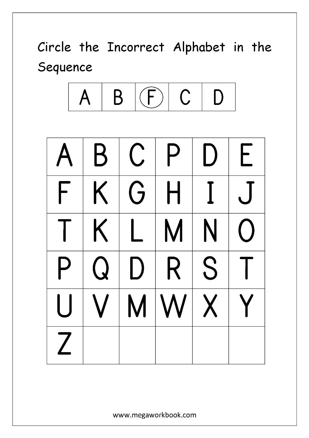 free english worksheets alphabetical sequence alphabetical order missing letters. Black Bedroom Furniture Sets. Home Design Ideas