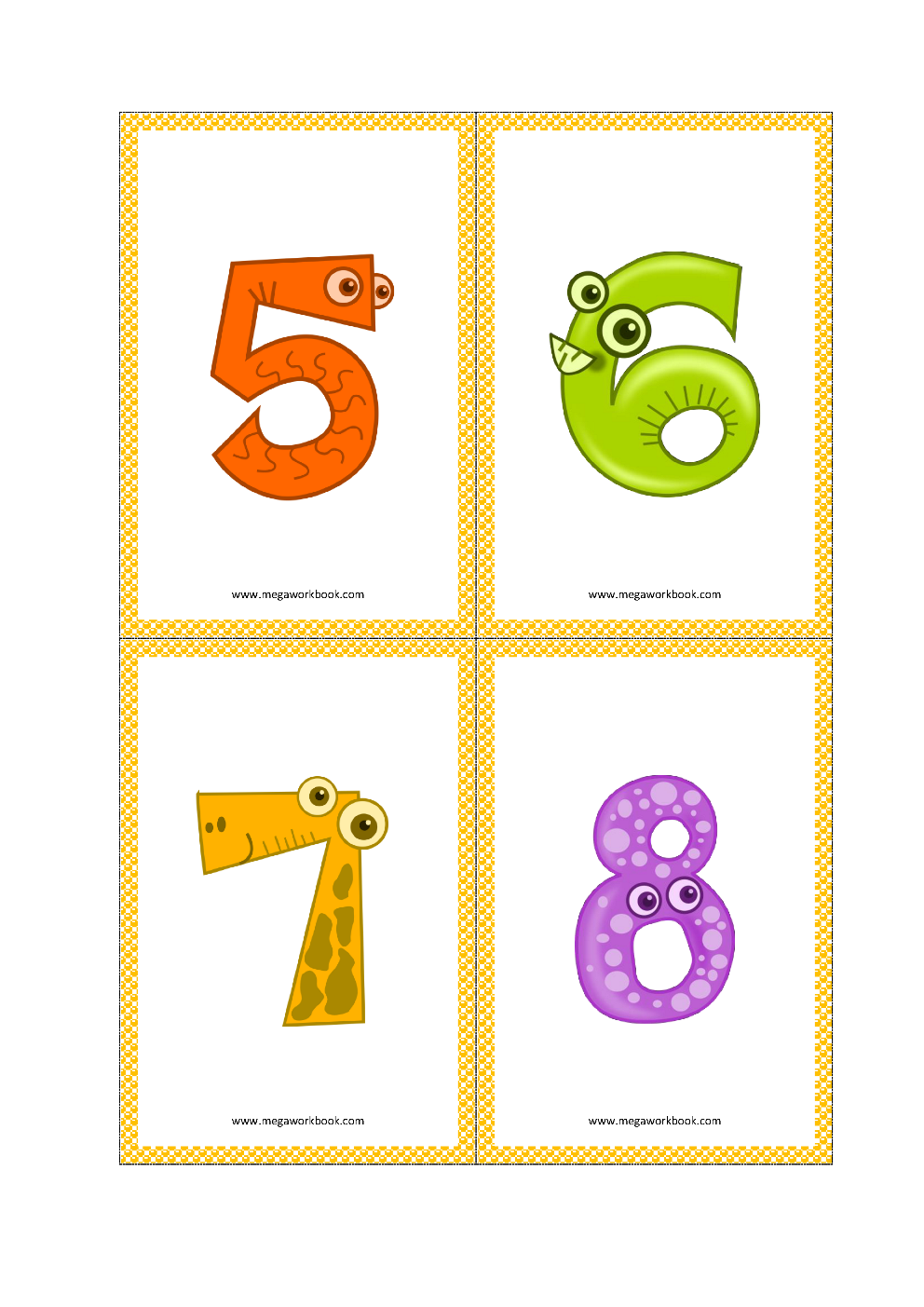 photo about Printable Numbers Flashcards identify Quantity Flashcards - Variety Flashcards Printable Cost-free - (1 in the direction of
