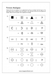 Picture Analogies Worksheet For Kindergarten - 04