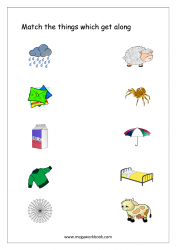 Things That Go Together Worksheet - Free Printable Worksheet