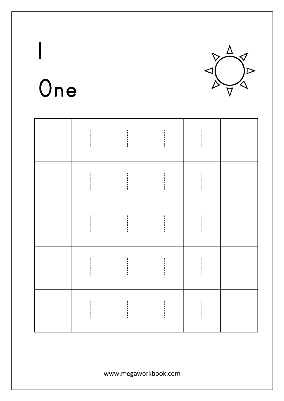 image regarding Printable Tracing Numbers referred to as Totally free Printable Amount Tracing and Creating (1-10) Worksheets