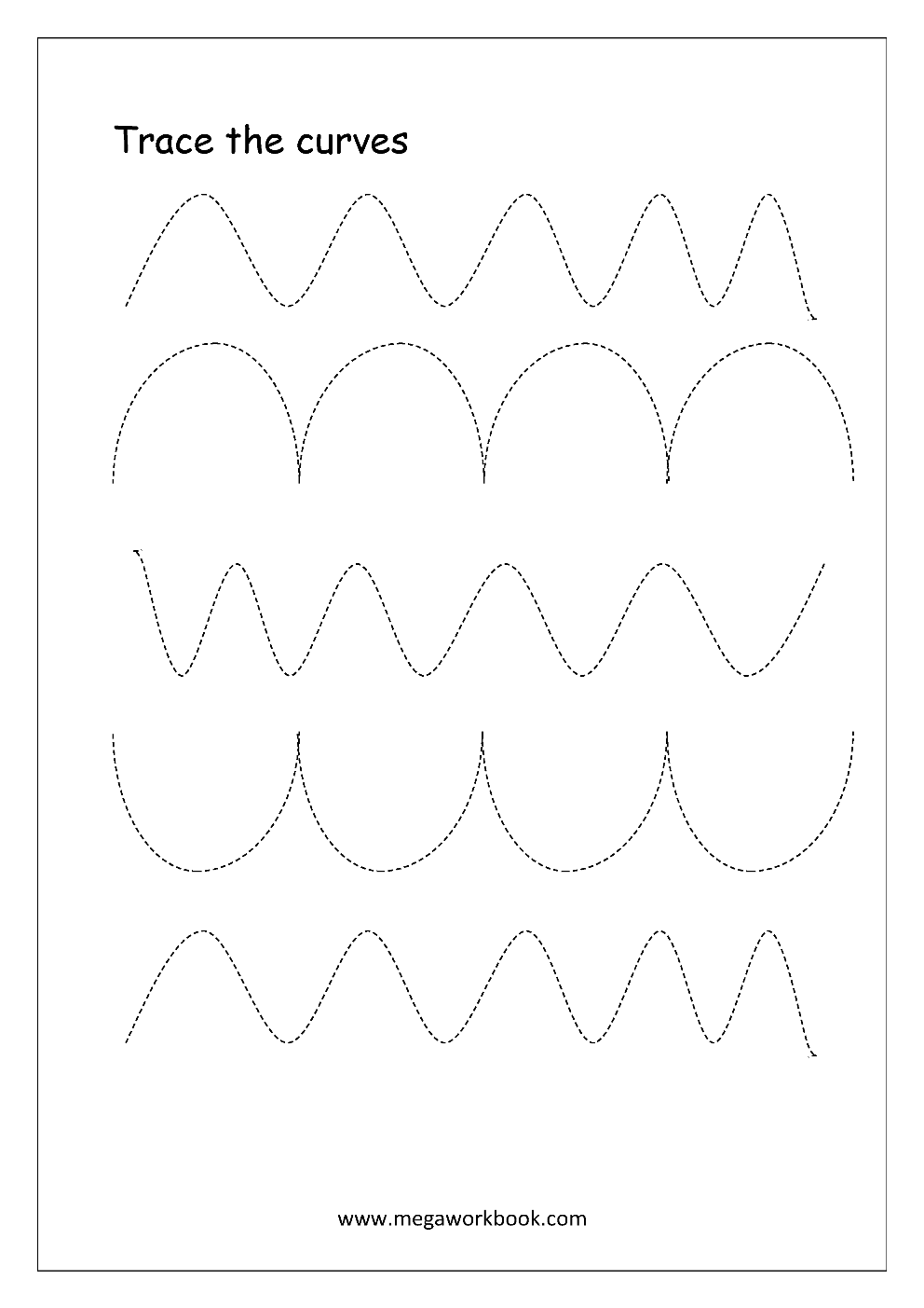 image relating to Tracing Lines Worksheets Printable identify Totally free Printable Pre-Crafting Tracing Worksheets For