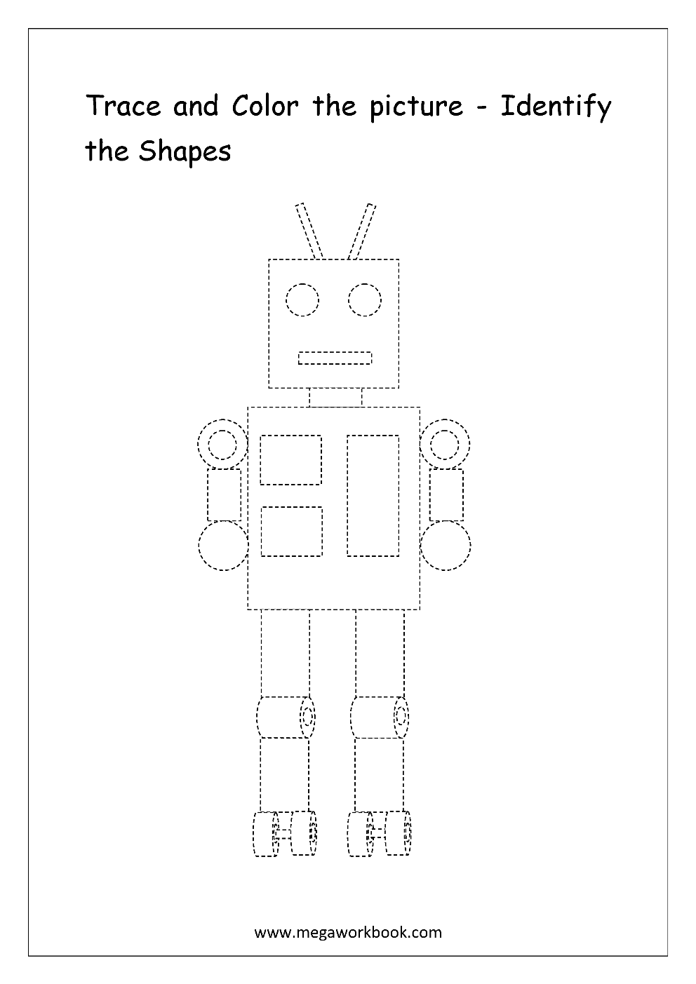 Coloring Sheet Monkey furthermore Tracing Coloring Pages Spring Page also Ce E E D Ccdb A F Free Worksheets In Spanish additionally Christmas Angel Coloring Pages likewise Letter Tracing Porcupine. on tracing shapes worksheets