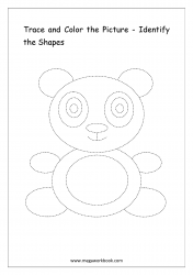 Identify The Shapes - Panda