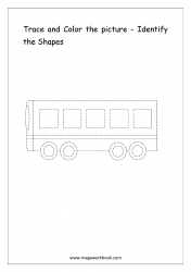 Identify The Shapes - Bus