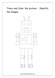 Identify The Shapes - Robot