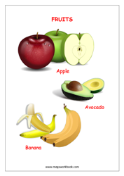 eBook-Name of Fruits (with pictures)