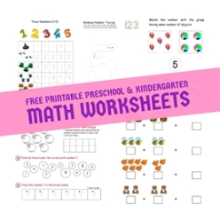 15+ Easy Math Worksheets For Kindergarten Pics