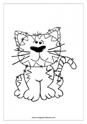 Cat Coloring Pages - Animal Coloring Pages
