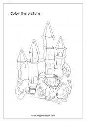 Coloring Sheet - Castle