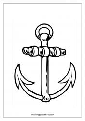 Coloring Sheet - Anchor