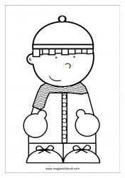 Coloring Sheet - Kid