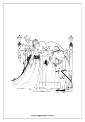 Coloring Sheet - Princess