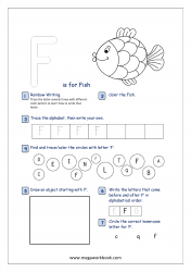 Free Printable English Worksheets For Kindergarten And Preschool Megaworkbook