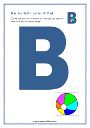 B for Ball - Capital B