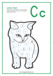 Letter Hunt (C For Cat)