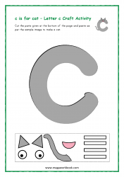 C for Cat - Small c