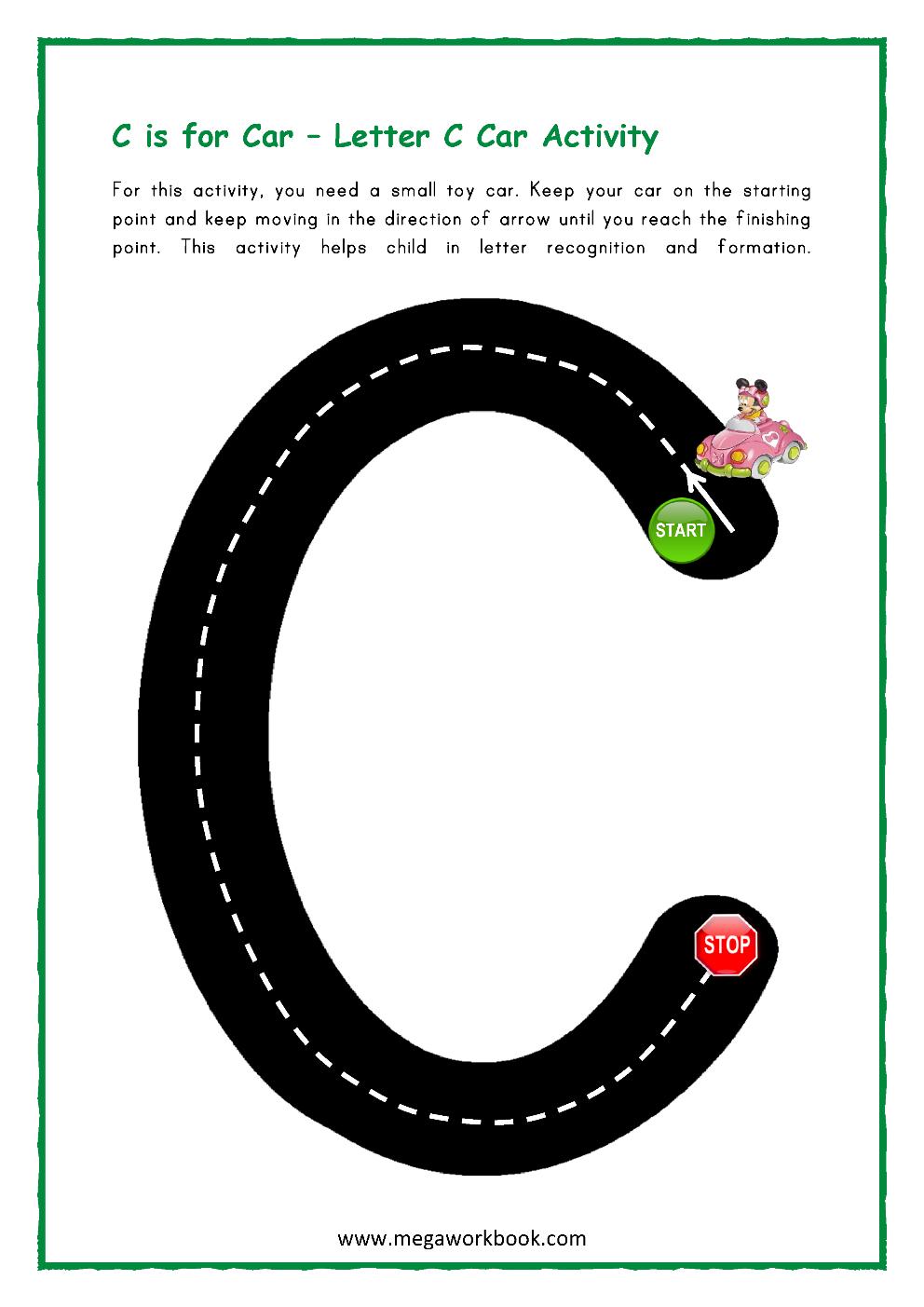 Letter C Activities - Letter C Worksheets