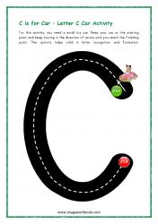 Road Letter C