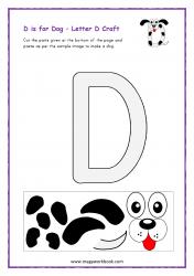 D for Dog - Capital D