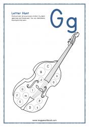 Letter Hunt (G For Guitar)