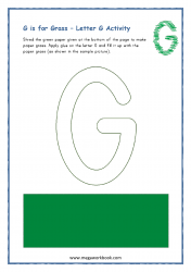 G for Grass - Capital G