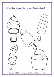 Ice-cream Coloring