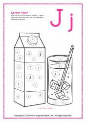 Letter Hunt (J For Juice)