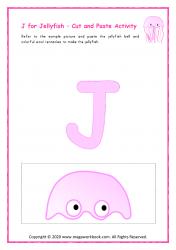 J for Jellyfish - Capital J